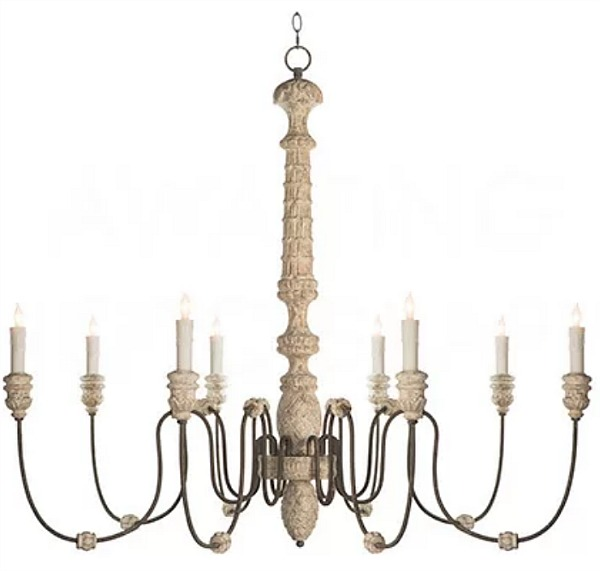 The Most Gorgeous French Chandeliers/Lena Aidan Gray - So Much Better With Age