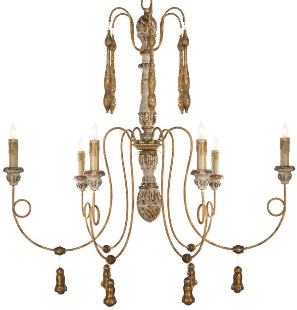 The Most Gorgeous French Chandeliers / Matheo French Country - So Much Better With Age