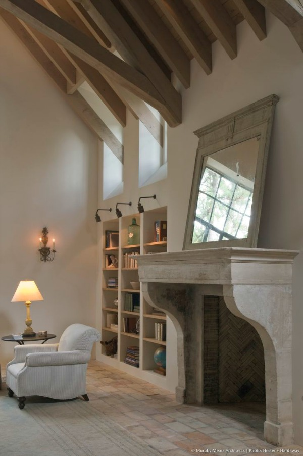 Fabulous Limestone Fireplaces / Murphy Mears - So Much Better With Age