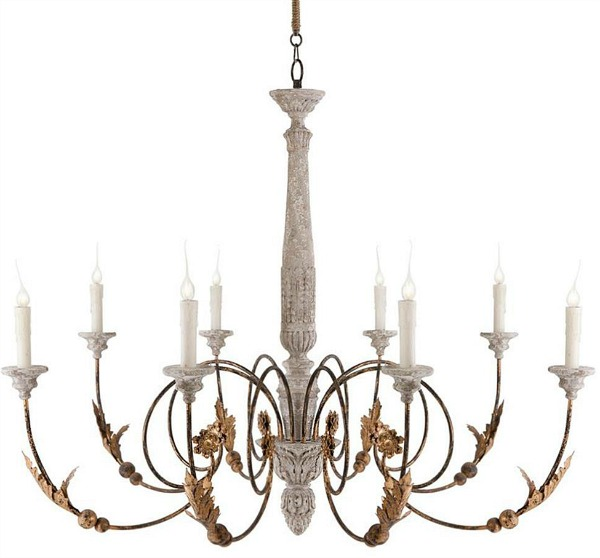The Most Gorgeous French Chandeliers / Pauline French Country - So Much Better With Age