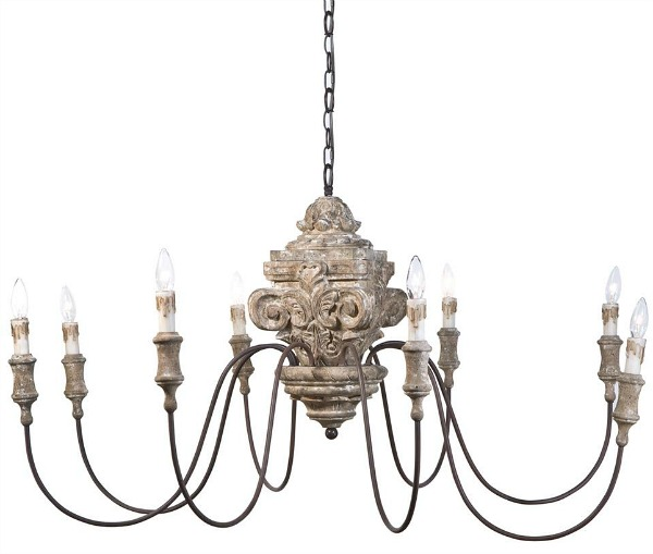 The Most Gorgeous French Chandeliers / Ravel French Country - So Much Better With Age