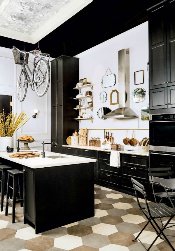Kitchen Islands White Or Color  /  Style at Home- So Much Better With Age