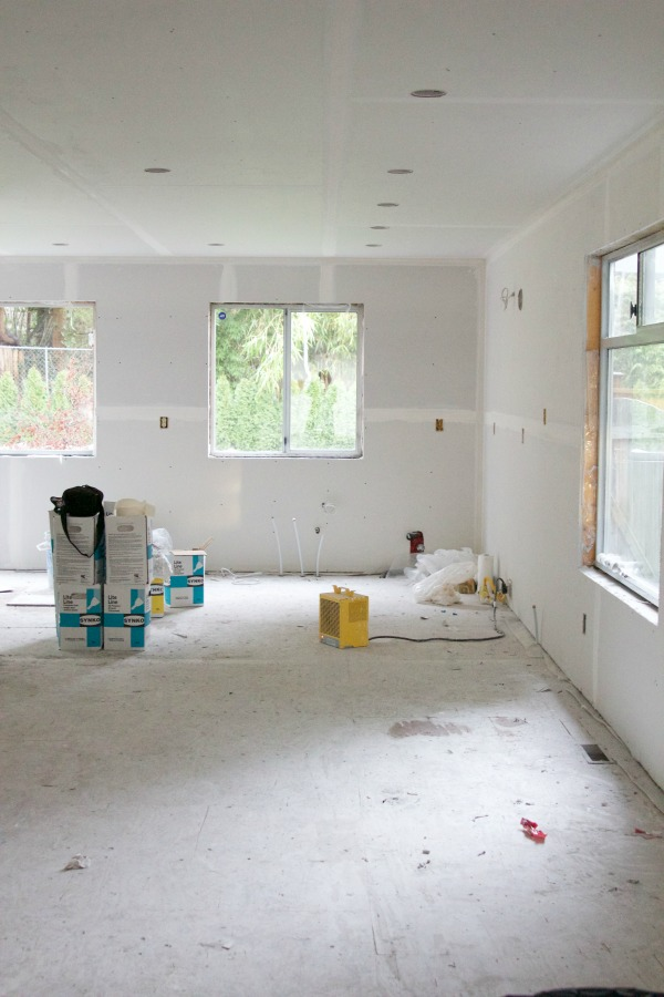 I Love Drywall / empty room with drywall - So Much Better With Age