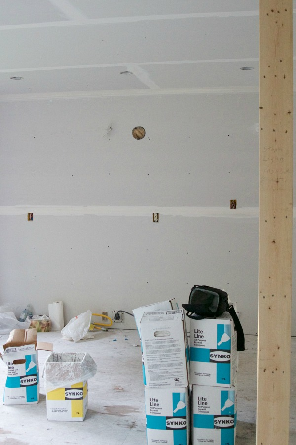 I Love Drywall / the kitchen wall - So Much Better With Age