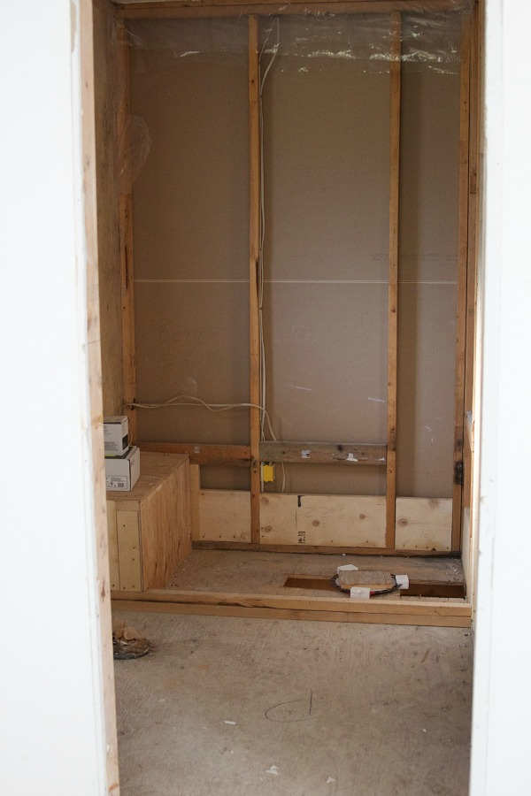 Renos in full swing at the Sweet Little Bungalow / master ensuite gutted