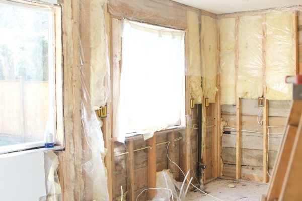 Renos in full swing at the Sweet Little Bungalow / flooring ripped out - So Much Better With Age