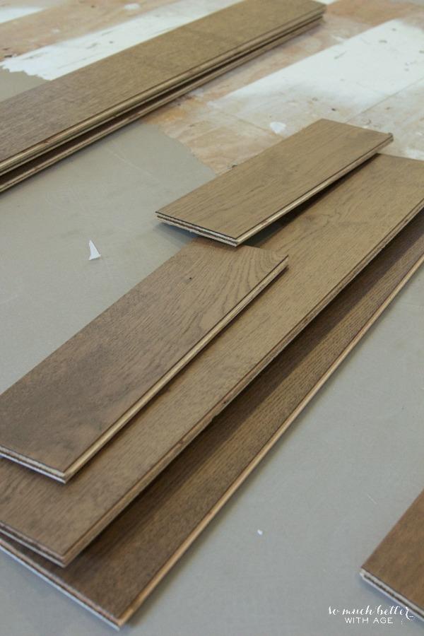 Hardwood Floors New Fireplace And Kitchen Hardware Dansk Flooring So Much Better