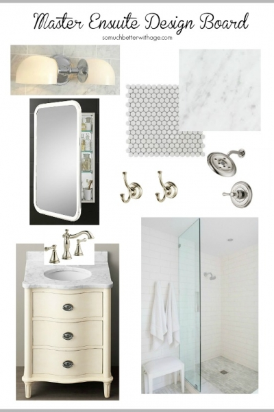 Master Ensuite Design Board