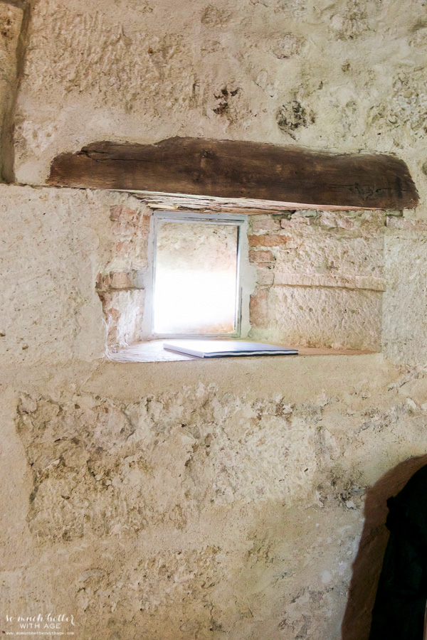 My time in France at Chateau Mondesir, 13th century Chateau / tiny window - So Much Better With Age