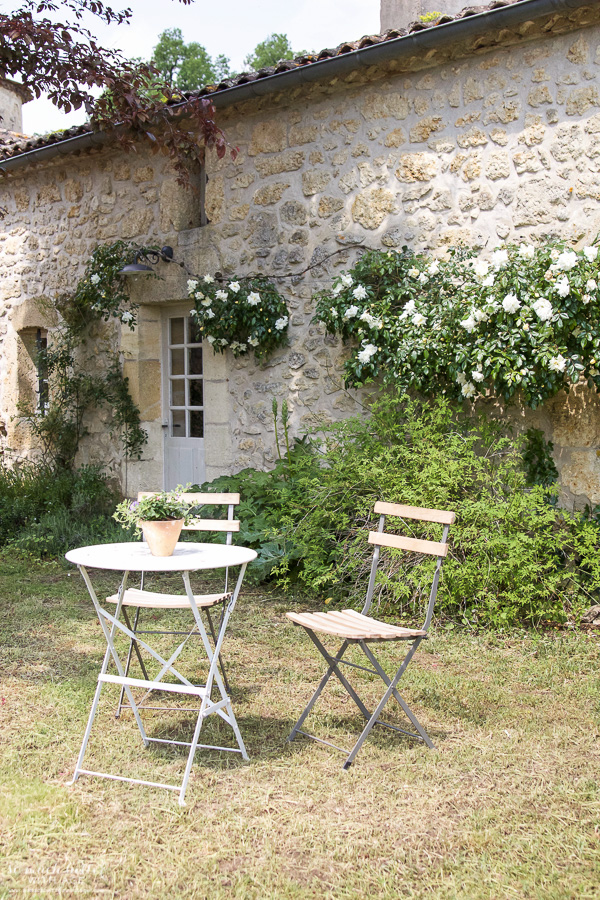 My time in France at Chateau Mondesir, 13th century Chateau / garden area - So Much Better With Age