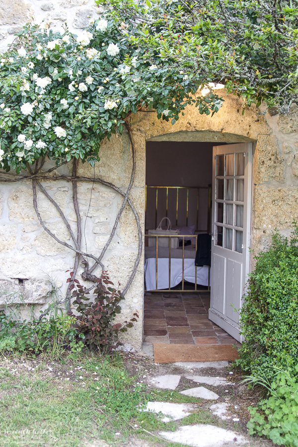 My time in France at Chateau Mondesir, 13th century Chateau / doorway - So Much Better With Age