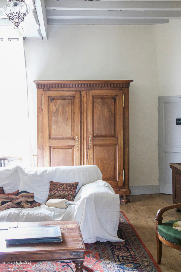 My time in France at Chateau Mondesir, 13th century Chateau / armoire - So Much Better With Age