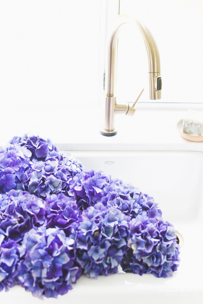 Beautiful Flowers & Kitchen Details