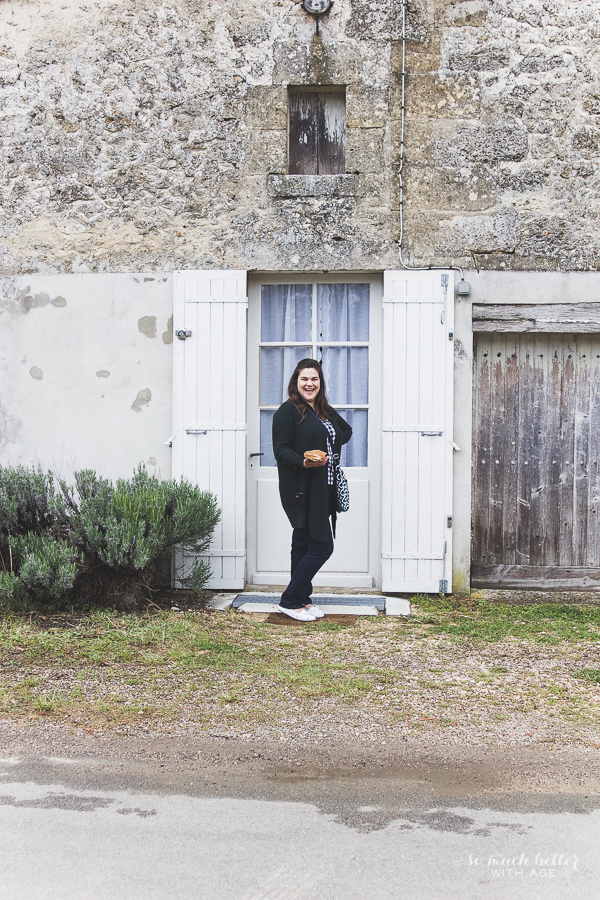 The Academy in France with Heather Bullard / French farmhouse door - So Much Better With Age
