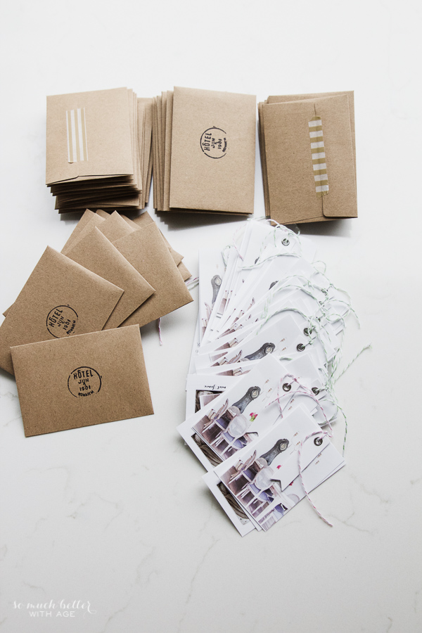 Haven Conference & making business cards that stand out / cute cards and envelopes - So Much Better With Age
