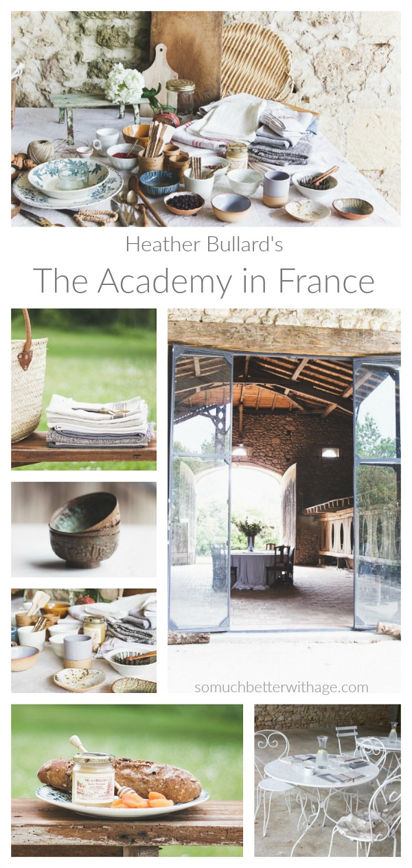 Heather Bullard's The Academy in France / So Much Better With Age