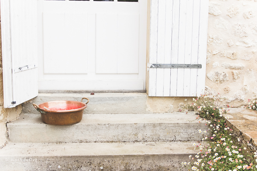 Photography And Styling Workshop / copper pot in front of door - So Much Better With Age