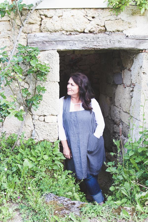 Photography And Styling Workshop / Heather Bullard posing in doorway in France - So Much Better With Age