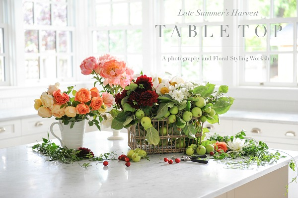 Floral styling workshop with Tracey Ayton & Floralista / tabletop - So Much Better With Age