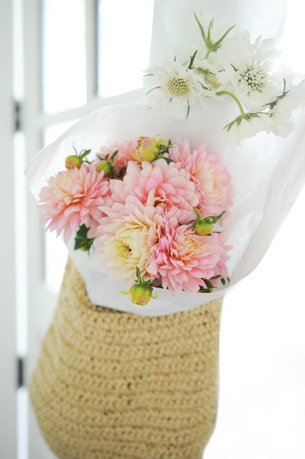 Floral styling workshop with Tracey Ayton & Floralista / flower in tote - So Much Better With Age