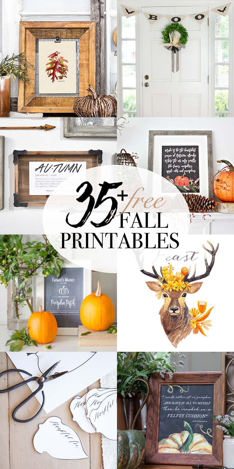 35+ FREE fall printables - So Much Better With Age