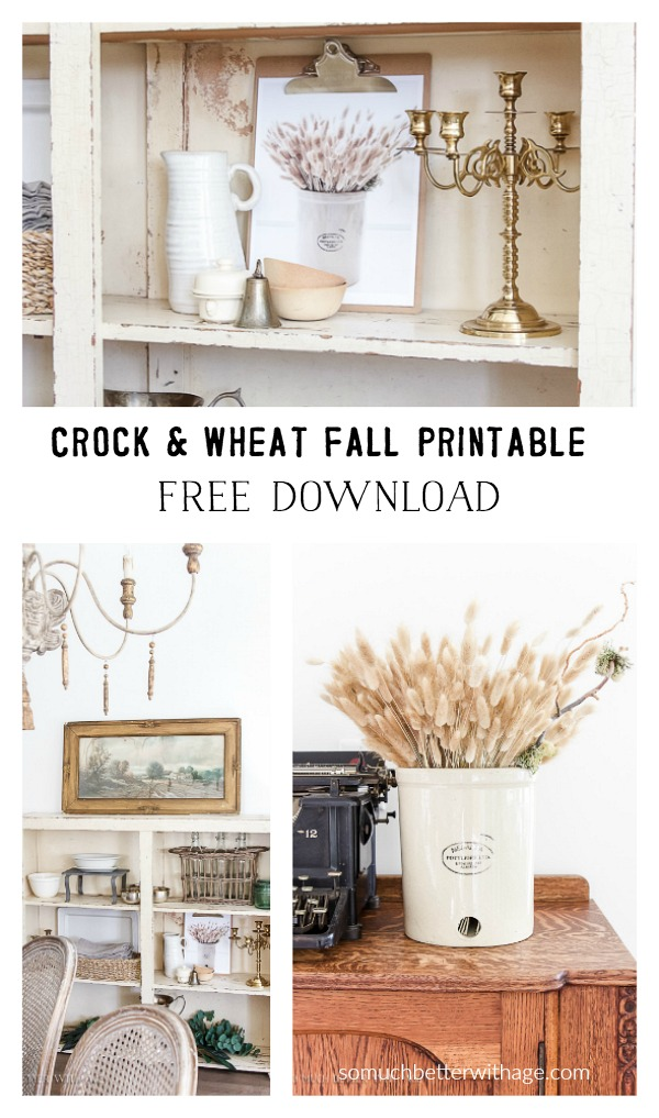 crock-wheat-fall-printable-download - So Much Better With Age
