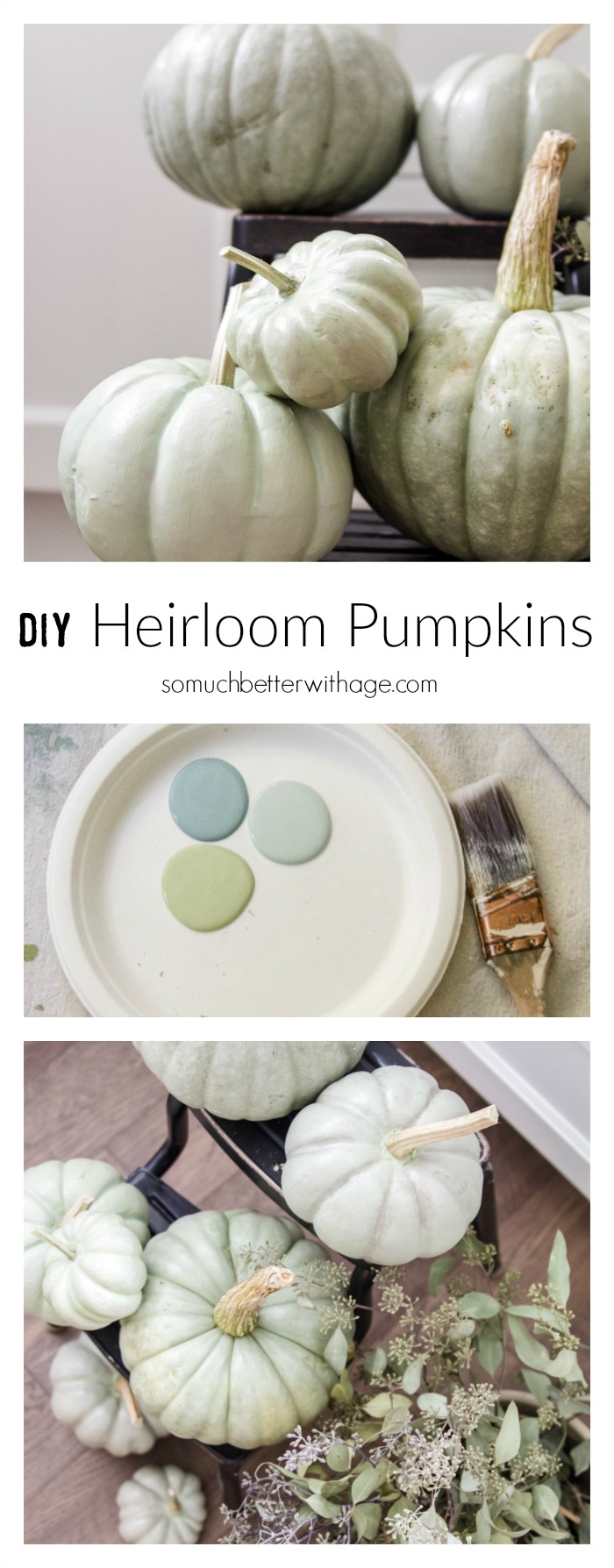 DIY heirloom pumpkin tutorial
