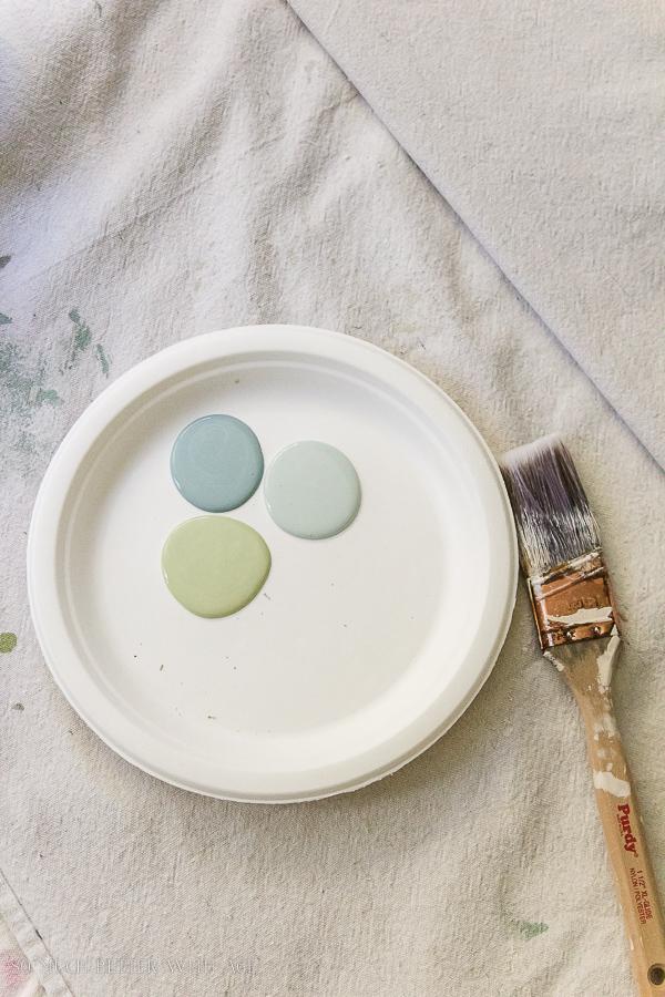 Painting colours for heirloom pumpkins-DIY heirloom pumpkin tutorial