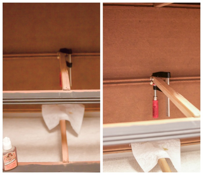8 Steps on How to Fix Badly Damaged Furniture /  fixing drawer guides on dresser  - So Much Better With Age