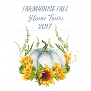 Farmhouse fall tours poster.