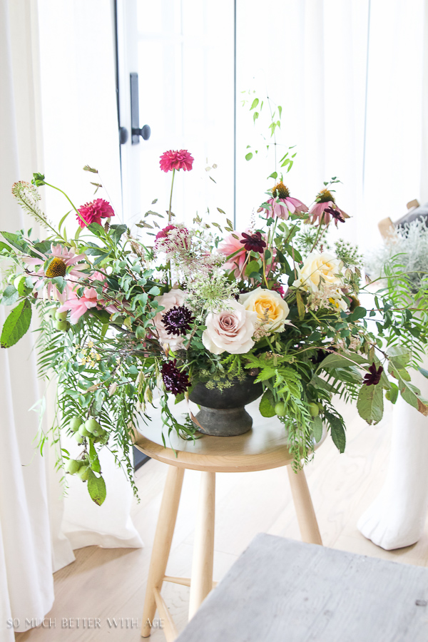 Floral Design and Photography Workshop / stunning floral arrangement - So Much Better With Age