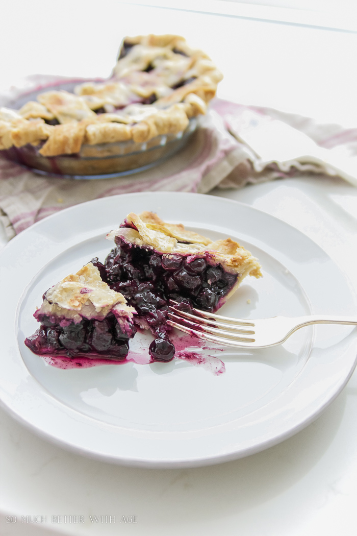 Best blueberry pie recipe - So Much Better With Age