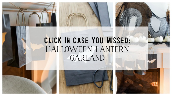 Click in case you missed: Halloween Lantern Garland