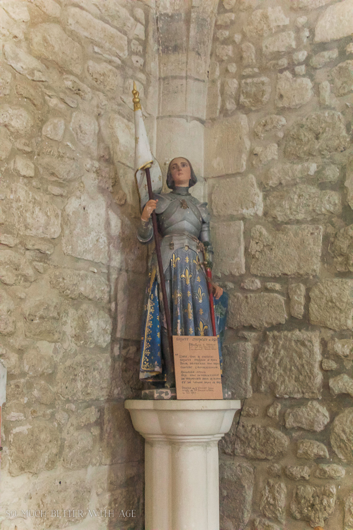 France 2016 Villefranche-de-Lonchat / statue in old church - So Much Better With Age