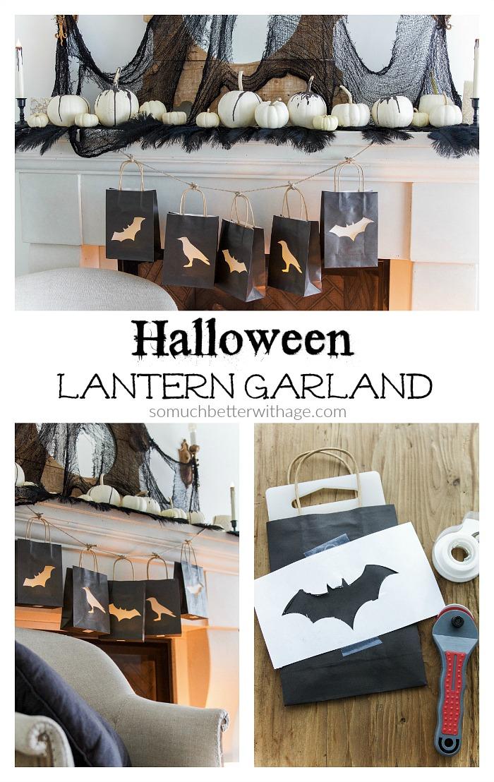 Halloween Lantern Garland - So Much Better With Age