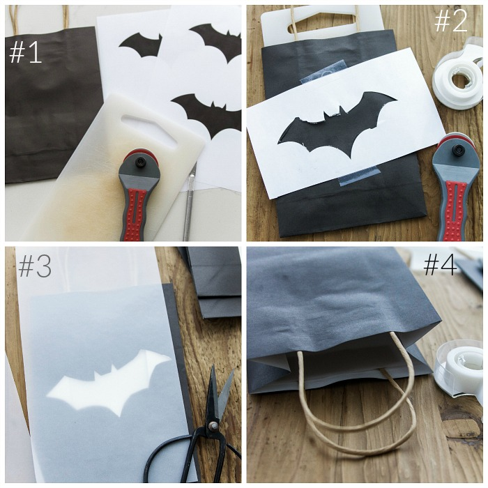 Halloween Lantern Garland / Halloween lantern tutorial and supplies - So Much Better With Age