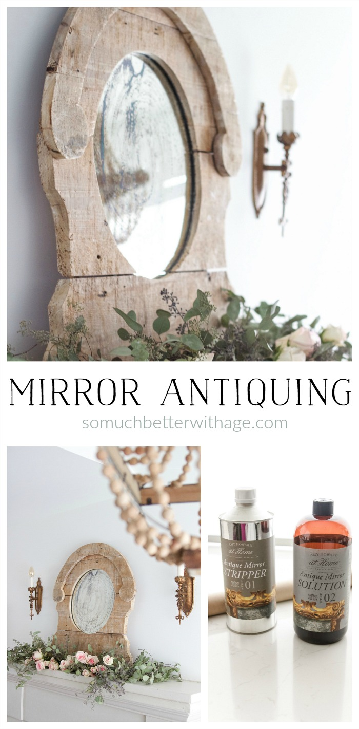 Antiquing a Mirror/How to Antique a Mirror - So Much Better With Age