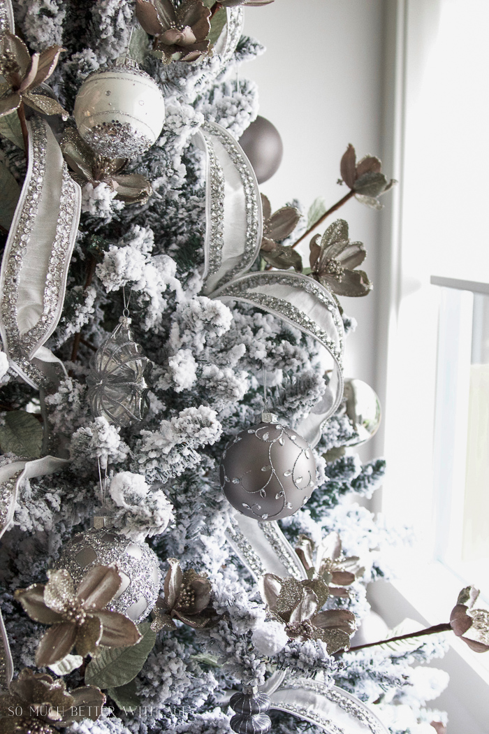 Glittered and Jewelled Christmas Tree + Giveaway | So Much Better ...