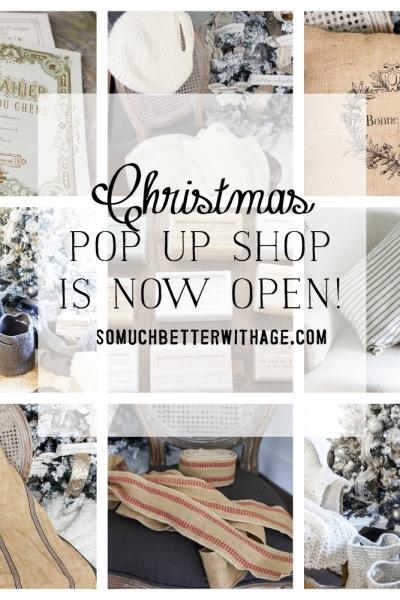 Christmas Online Pop Up Shop Now Open!
