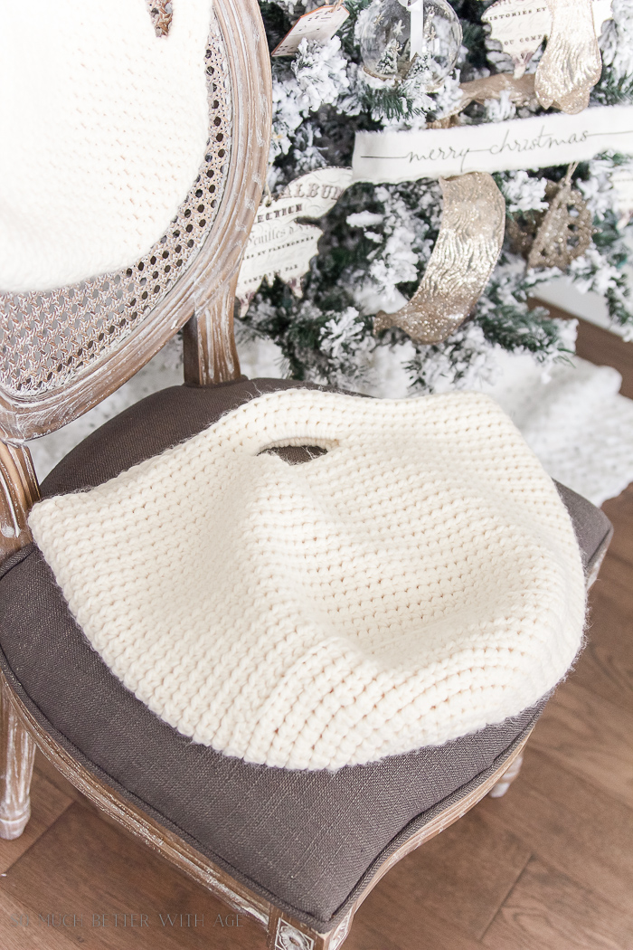 Crocheted baskets and bags - Christmas pop up shop