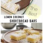 Lemon Coconut Shortbread Bars Giveaway So Much Better
