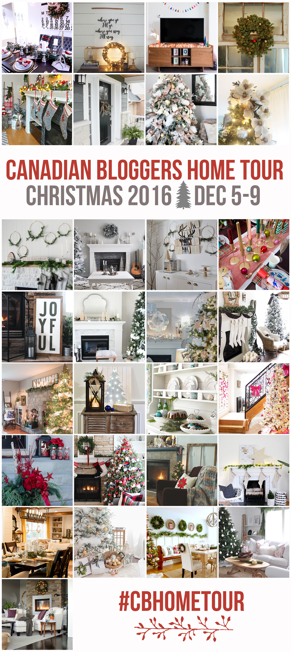 2016-canadian-bloggers-christmas-home-tour - So Much Better With Age