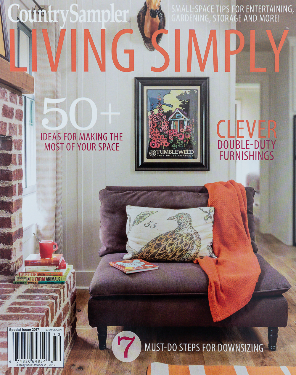 Country Sampler - Living Simply - Sept 2017