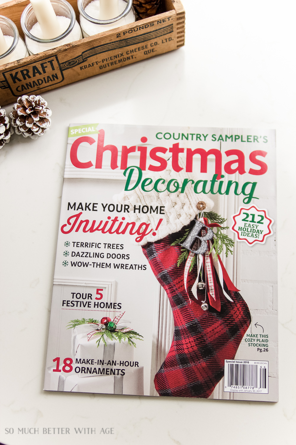 Christmas Posts 2016 / Country Sampler Magazine - So Much Better With Age