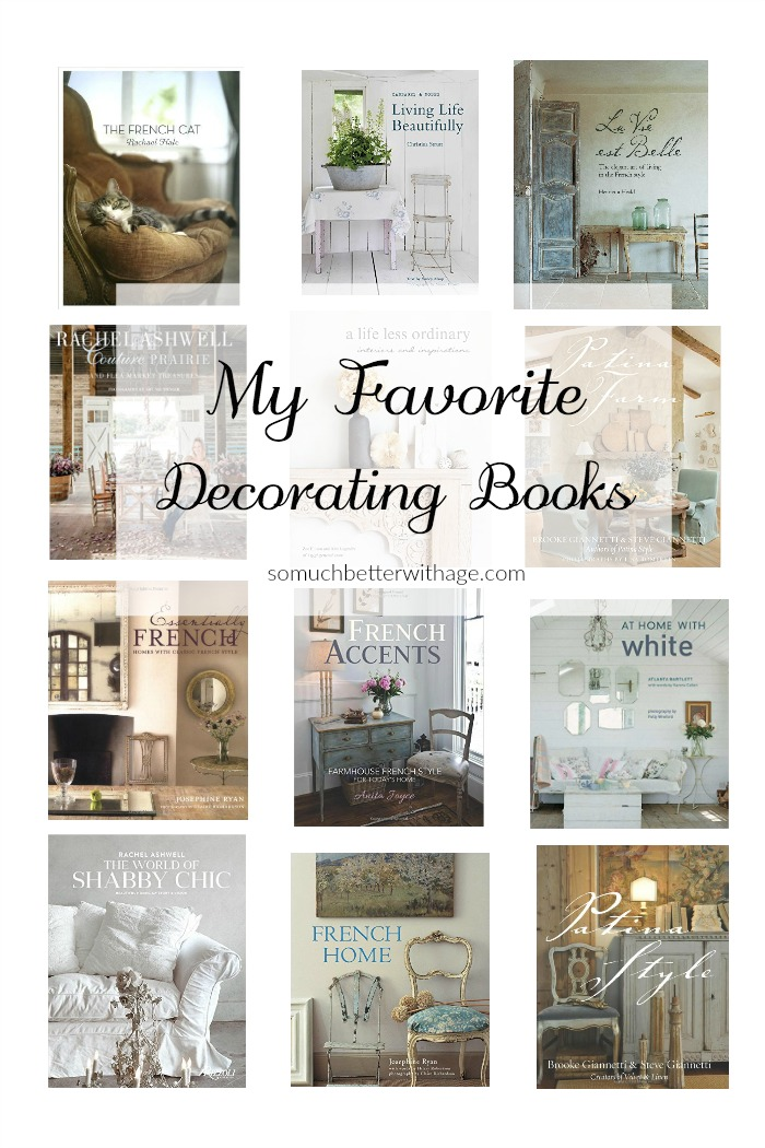 My Favorite Decorating Books, My Favorite Things