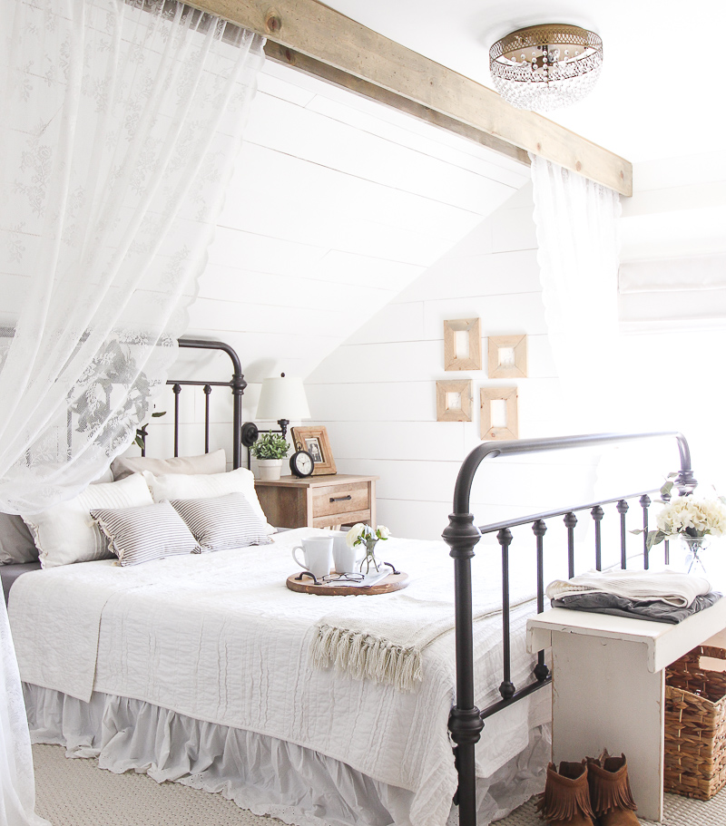 A Touch of Farmhouse Charm, The Perfect Christmas Gift / rustic bed - So Much Better With Age