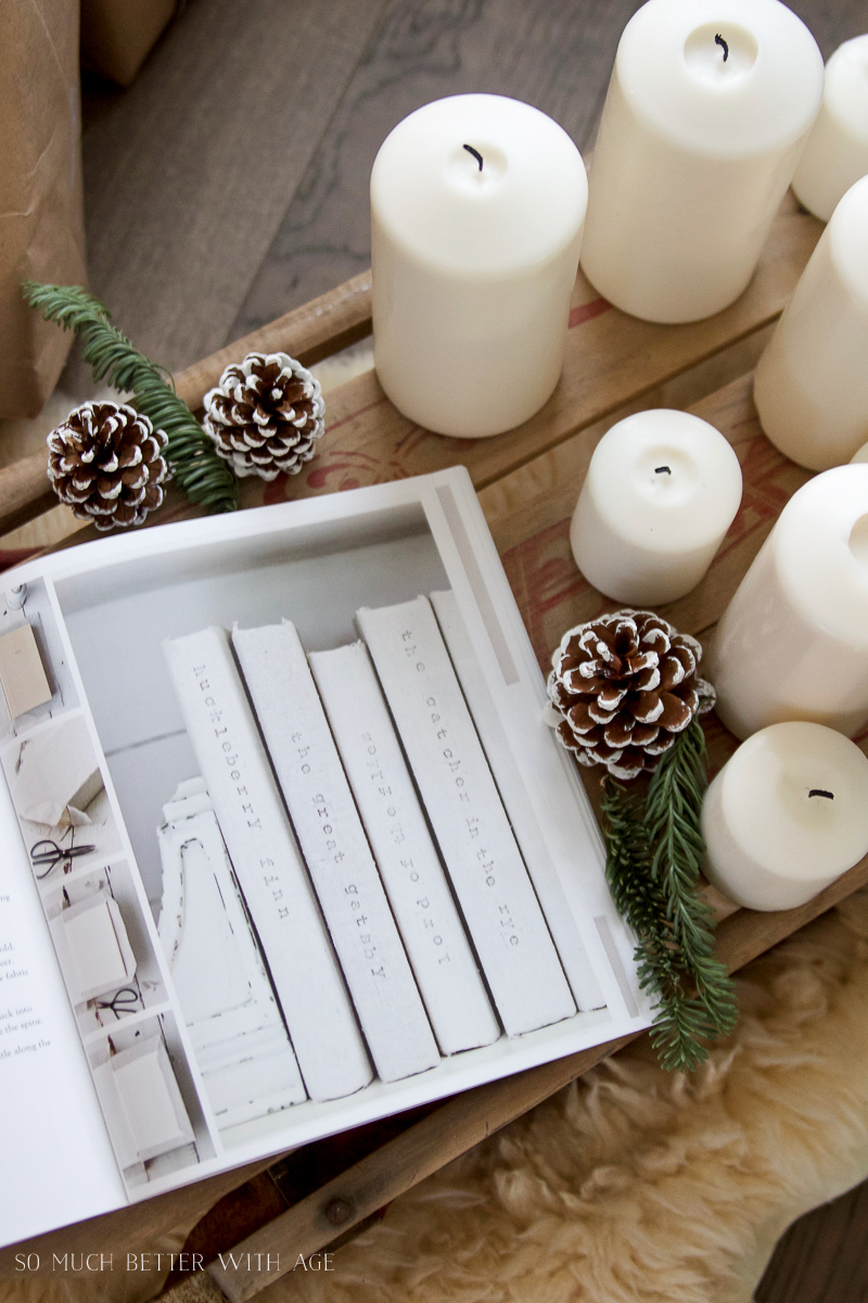 A Touch of Farmhouse Charm, The Perfect Christmas Gift / candles on table - So Much Better With Age