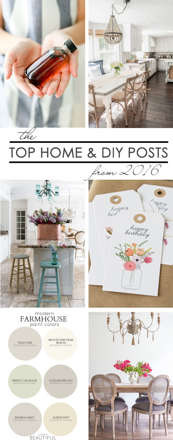 The Top Home & DIY Posts from 2016 - So Much Better With Age