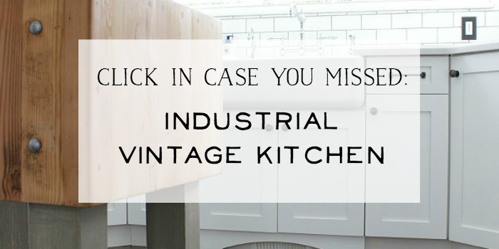 Industrial Vintage Kitchen