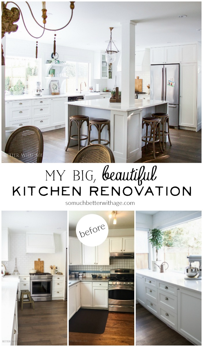 My Big Beautiful Kitchen Renovation